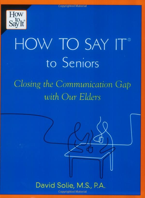 Everyone who has aging parents or who work with aging adults should read this one.