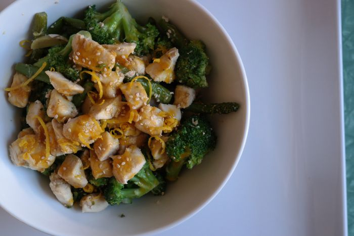 Orange Chicken Stir Fry - Whole 30