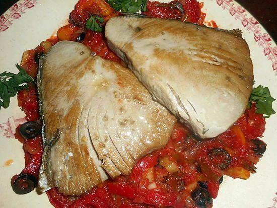 recette Steak de thon à la niçoise