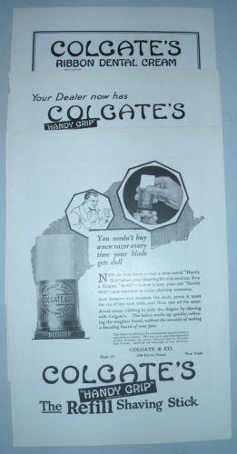 3-1920-Colgate Ads Shaving-Stick-amp-ribbon-dental-cream