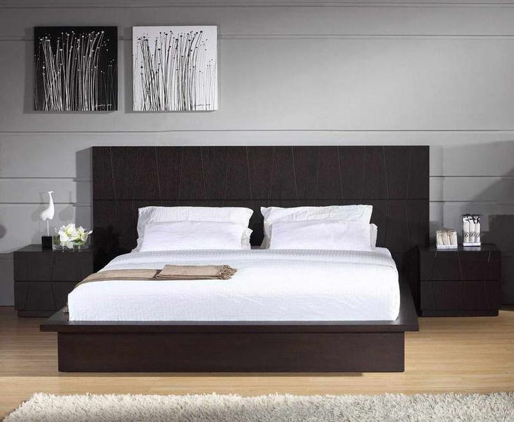 bedroom bedroom decoration ideas with stunning simple floating bed design and creative wall