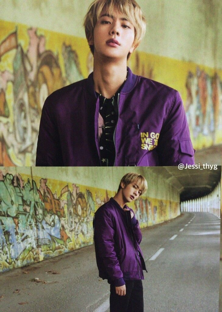 Jin... The most beautiful man in this world!!