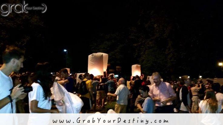 Brilliant Evening at Loi Krathong Lantern Festival. Chiang Mai, Thailand… #LoiKrathong #LanternFestival #ChiangMai #Thailand #GrabYourDestiny #Travel #JasonAndMichelleRanaldi  www.GrabYourDestiny.com