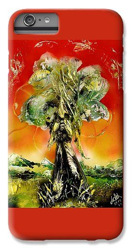 The Sentinel IPhone 6 Plus Case Printed with Fine Art spray painting image The Sentinel by Nandor Molnar (When you visit the Shop, change the orientation, background color and image size as you wish)