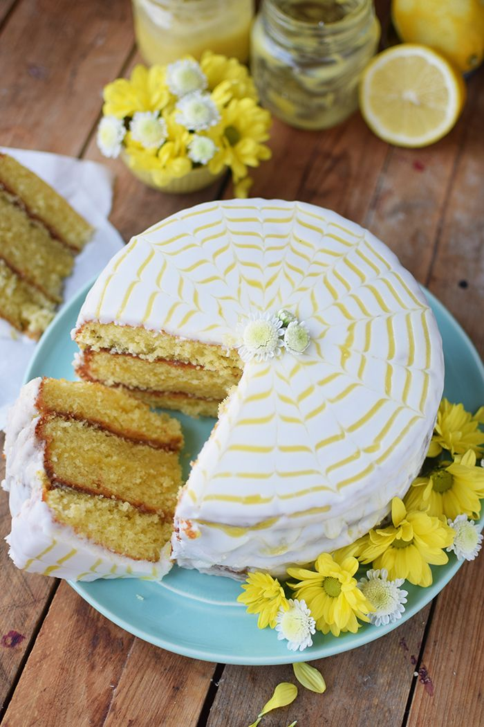 Lemon Curd Kuchen Easy Lemon Curd Cake A Bakery Perhaps