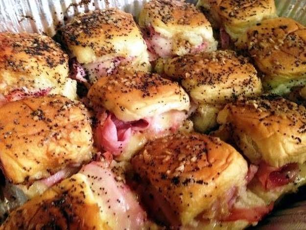 Hawaiian ham n cheese sliders