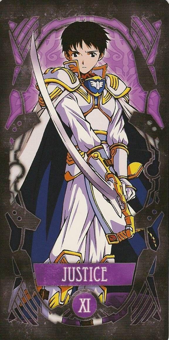 Tarot: Shinji (La Justicia)