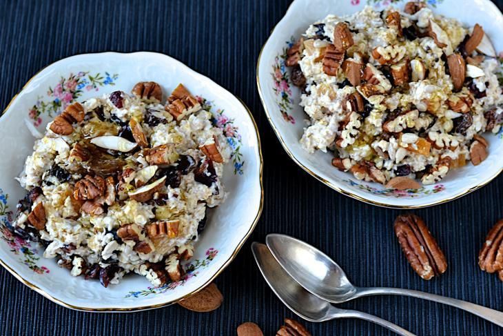 Fermentovaná ovesná kaše - výborná a zdraví prospěšná snídaně, která Vás zasytí na celé dopoledne.