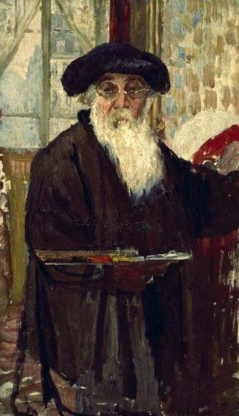 Self Portrait by Camille Pissarro, c1898
