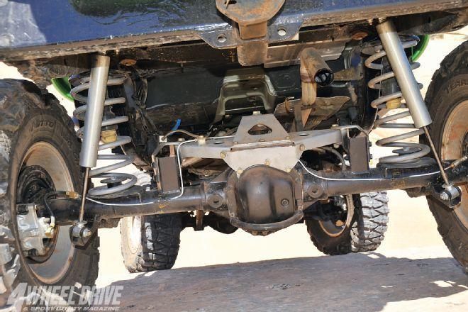 Great Jeep Tj Rear Axle