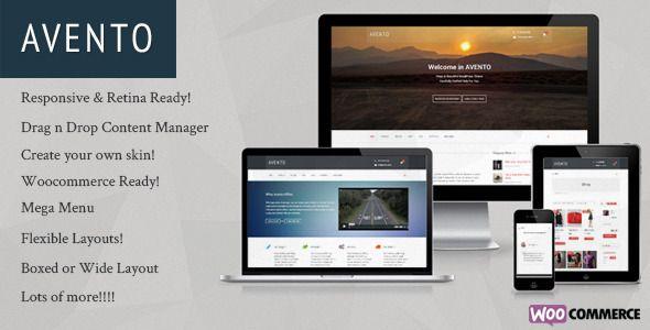 Avento - Multipurpose Business WordPress Theme