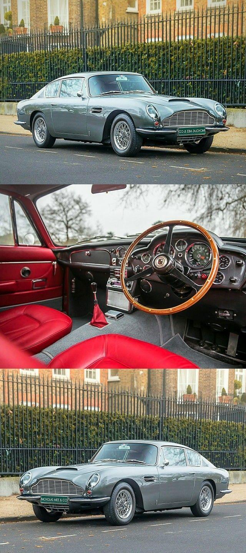 Classic Cars  :   Illustration   Description   1968 Aston Martin DB6
