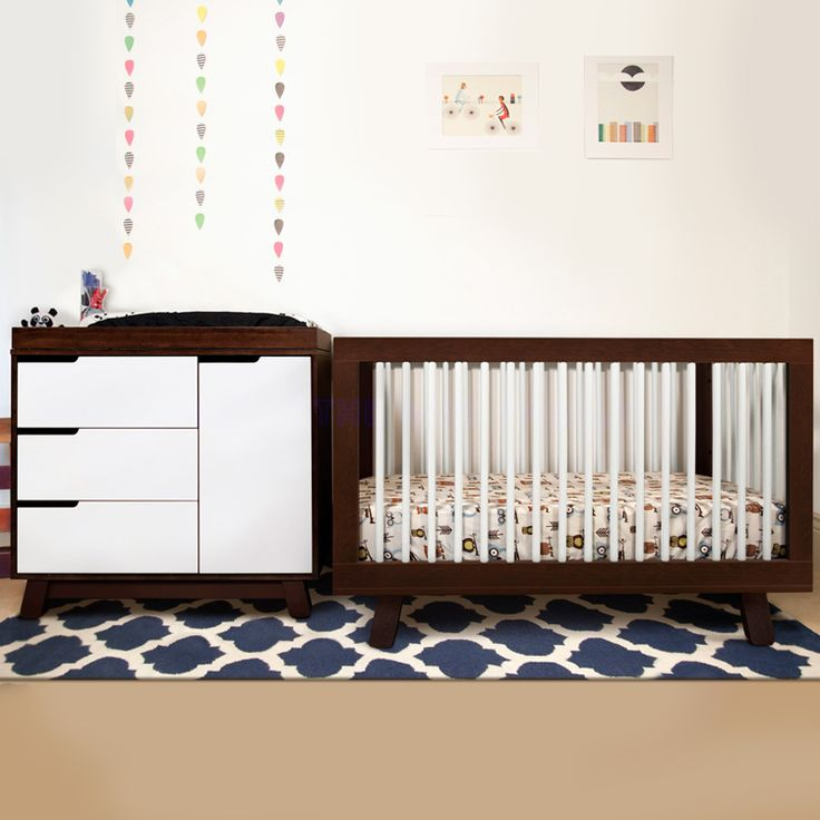 Buy Your Espresso And White Hudson Convertible Crib By Babyletto Here The Is Perfect Piece For Babys