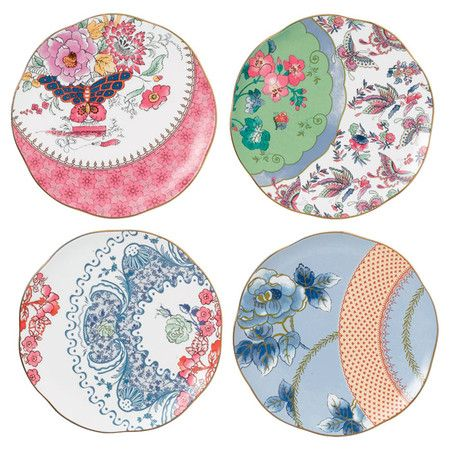 """Wedgwood Butterfly Bloom 8.25"""" Plates (Set of 4) at Joss and Main"""