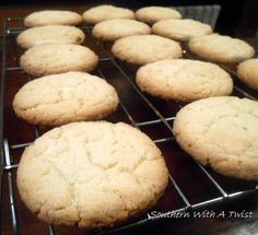 Southern With A Twist: Soft Sugar Cookies (very few ingredients, starts with self rising flour!)