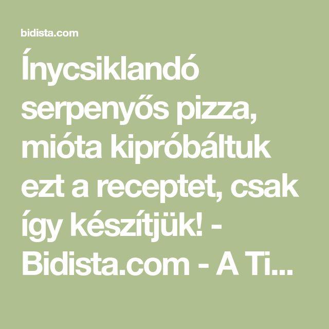 Ínycsiklandó serpenyős pizza, mióta kipróbáltuk ezt a receptet, csak így készítjük! - Bidista.com - A TippLista!
