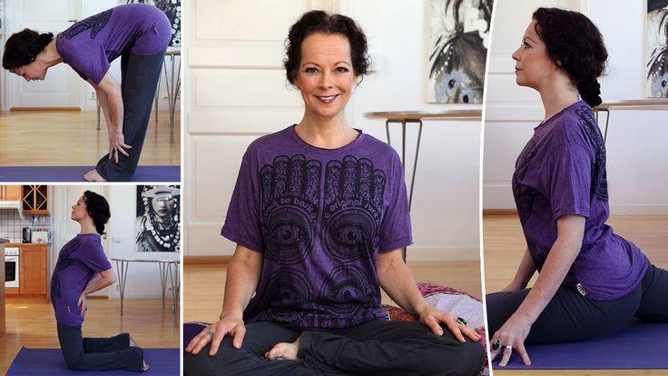 Experten tipsar om smarta yogaövningar för en friskare och starkare rygg, som du enkelt gör hemma.