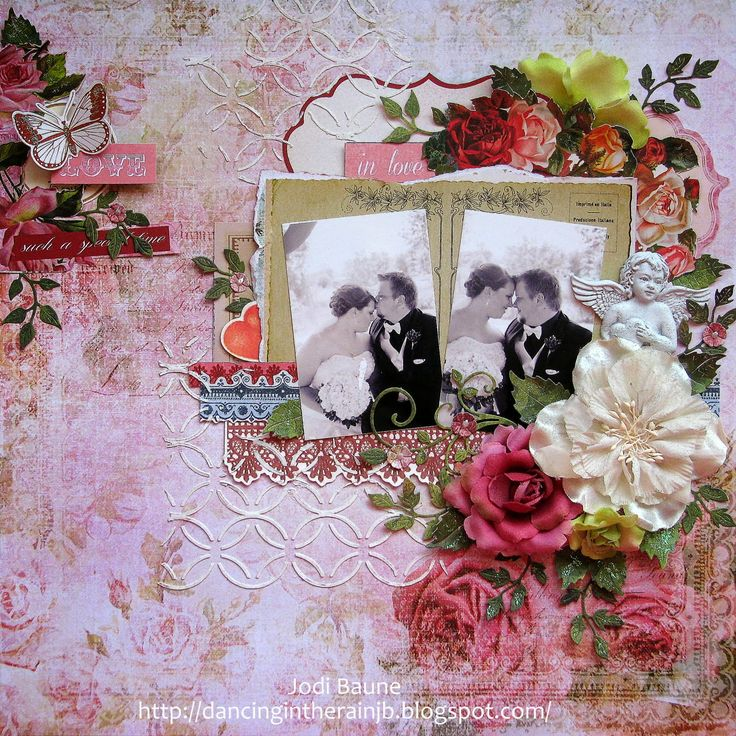 dancing in the rain: My Creative Scrapbook February Reveal! Key to My Heart collection by KaiserCraft.