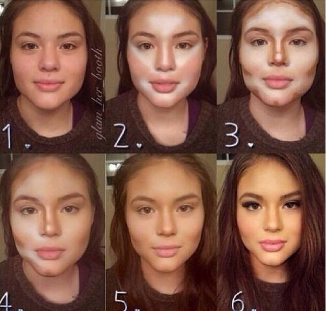 if this is how makeup works , im doing it wrong . how to apply bronzer  highlighter