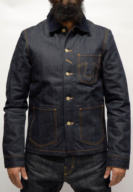 Eat Dust - FIT 673 B ''RAW SELVAGE JEANS JACKET'' LTD. $359