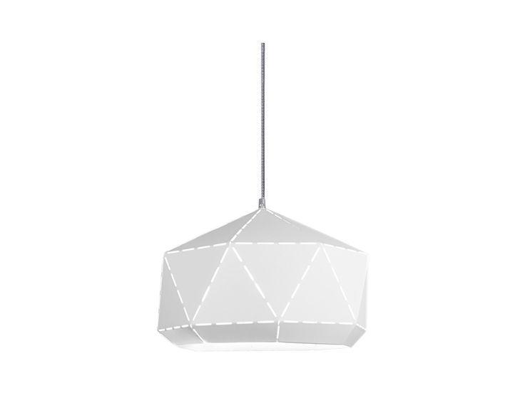 lampa wisząca Diamond White-Gray