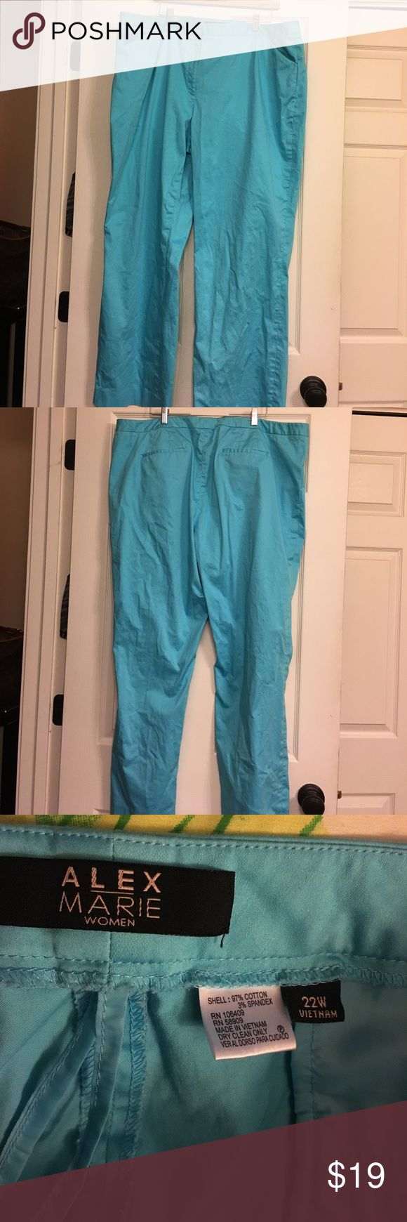 Alex Marie Pants!  Size 22W!  Great condition! Alex Marie Pants!  Size 22W!  Great condition! Priced to sale!  I can no longer wear them!  Feel free to make an offer! Alex Marie Pants Trousers