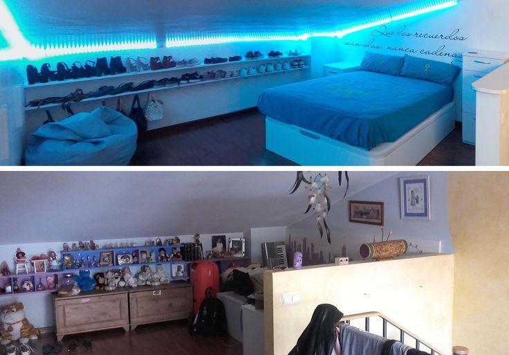 Transformar un dormitorio de una niña a adolescente