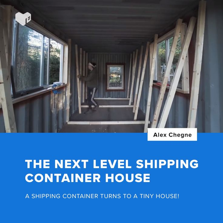 A $10,000 Shipping Container House