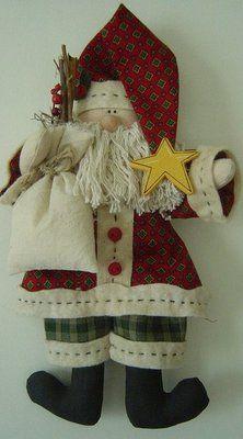 Via Madri Artesanato: Natal...mais idéias para decoração
