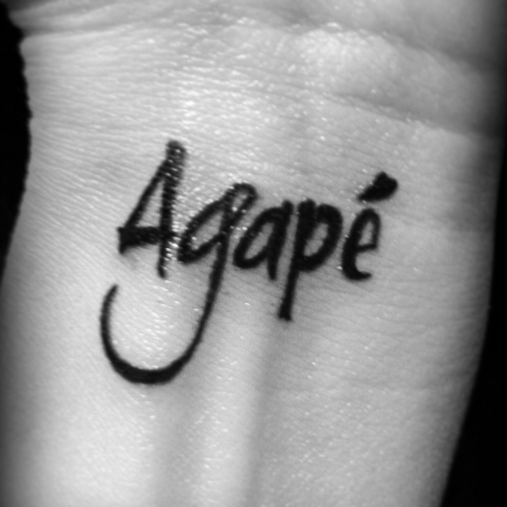Best 25+ Agape Tattoo Ideas On Pinterest