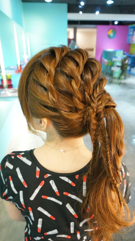 ruler hair dressing japan makoto ishii braid