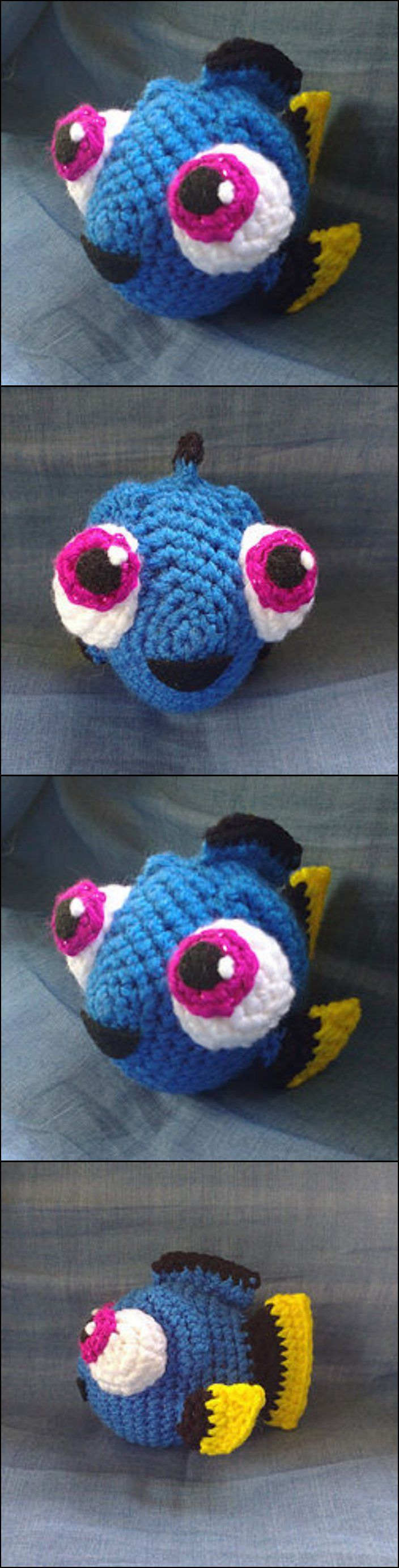 Crochet Baby Dory with Free Pattern