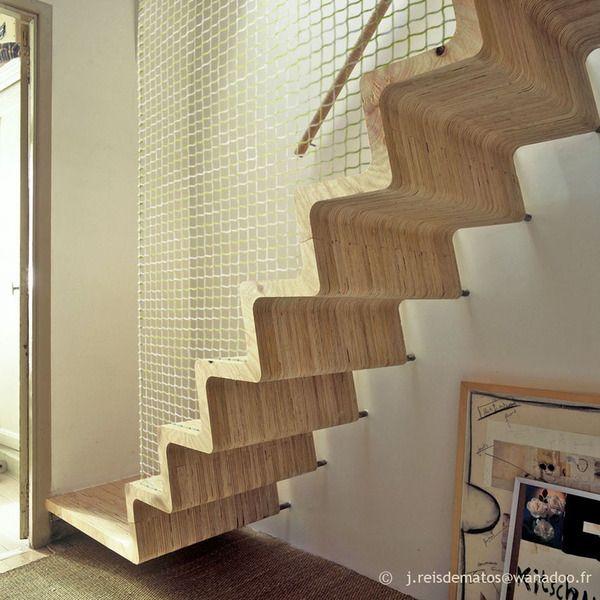 l'escalier « Zazou » par José Reis de Matos © Gonzague Defois