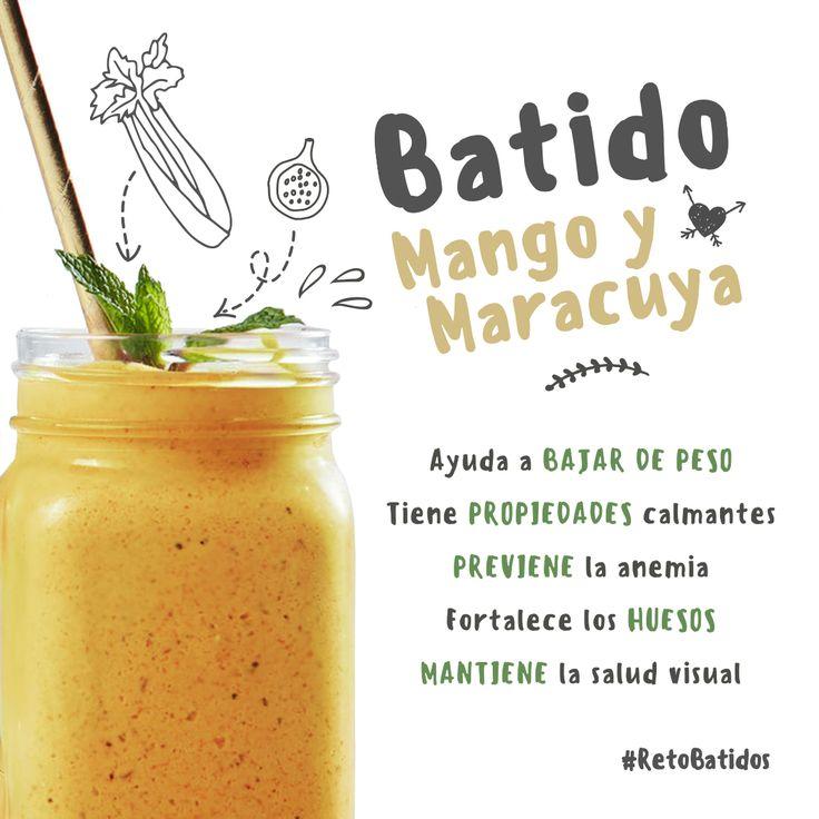 Día 8: Batido Mango y Maracuya | Reto Batidos