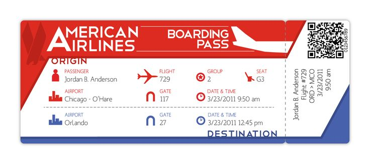 flight card | Leaflet/flyer promotion Research | Pinterest