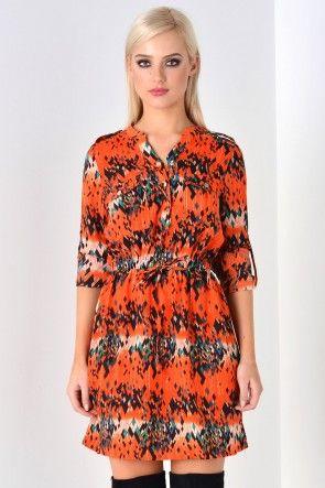 Lacey Diamond Pattern Dress