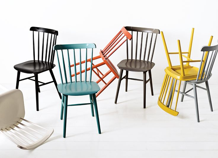 Colorful Classic Chairs on a Budget: Remodelista