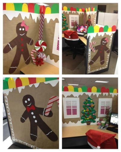 25+ Unique Christmas Cubicle Decorations Ideas On