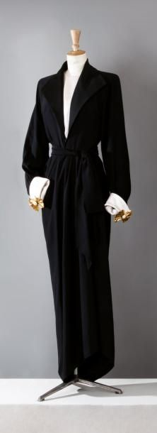Yves SAINT LAURENT haute couture n°63773, Robert Goossens Automne/Hiver…