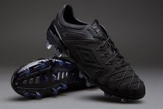 Umbro Football Boots - Umbro UX-1 Concept FG - Firm Ground - Soccer Cleats - Black