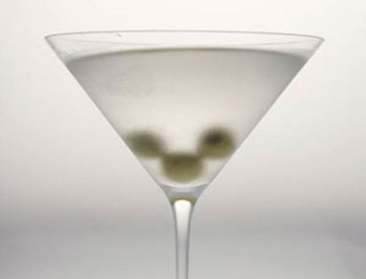 Gwyneth's Best Dirty Martini- shake it until it's snowy