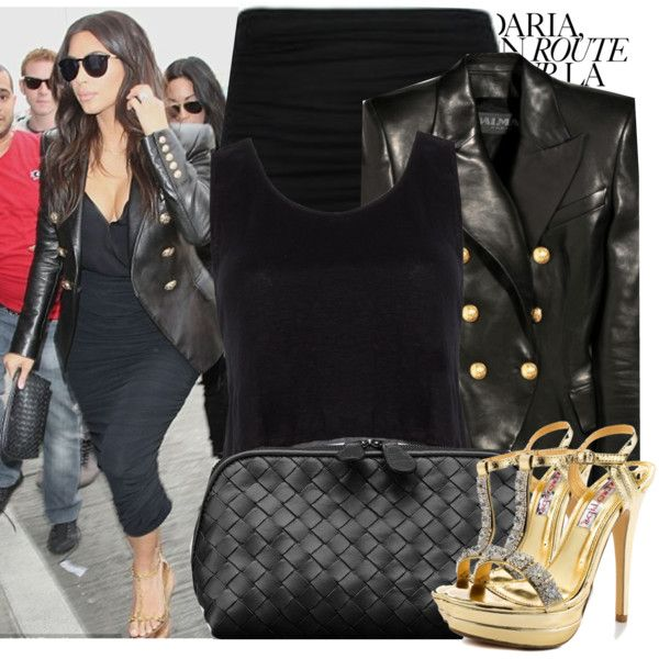 Kim Kardashian By Kusja On Polyvore Celebrity Style Pinterest