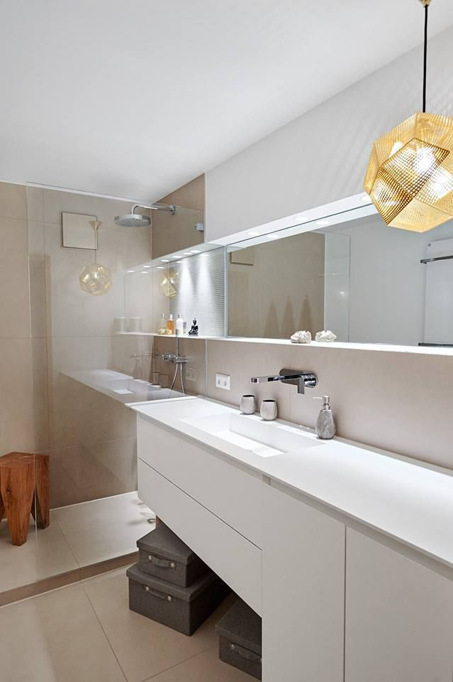 Italian Bathrooms: made in Italy furniture for a german bathroom Credits: #Ideagroup