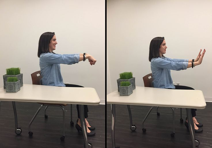 Finger Flexion and Extension https://www.prevention.com/fitness/5-stretches-that-can-ease-your-carpal-tunnel-pain/slide/3