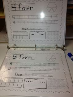 Freebie! Practice writing the numbers worksheets (1-20) from Primary Graffiti on Teachers Pay Teachers. Sparkles, Smiles, and Successful Students: Kindergarten Writing Center.