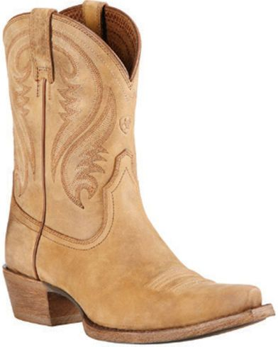 Ariat Brown Willow Short Cowgirl Boots - Snip Toe - Country Outfitter