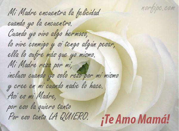 Frases Y Poemas Para Mama Y Todas Las Madres De Facebook En Su Dia