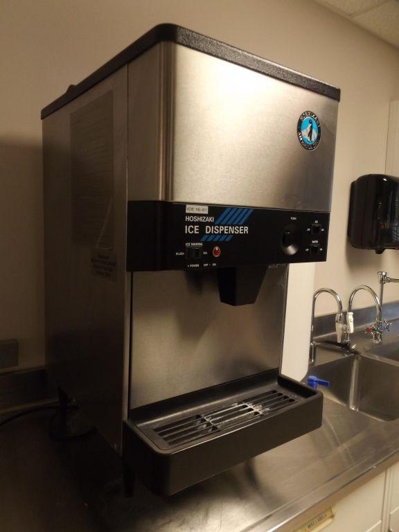 Hoshizaki Model Dcm 240baf Counter Top Ice Machine Ice Machine