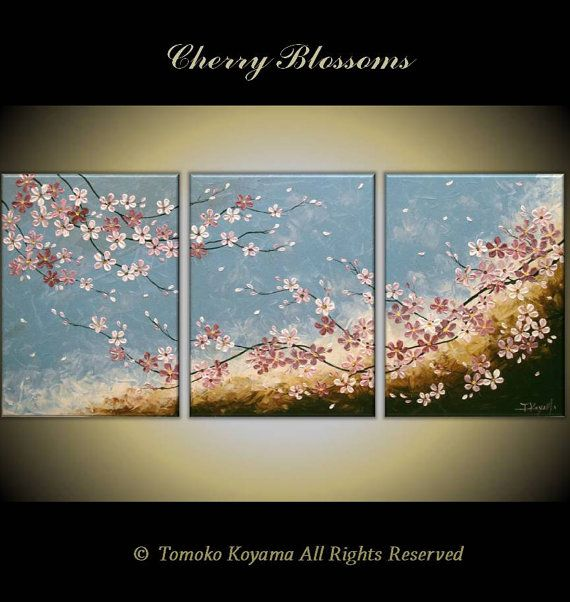 Original Impasto Acrylic Modern Abstract Art  Painting on  Gallery wrapped…
