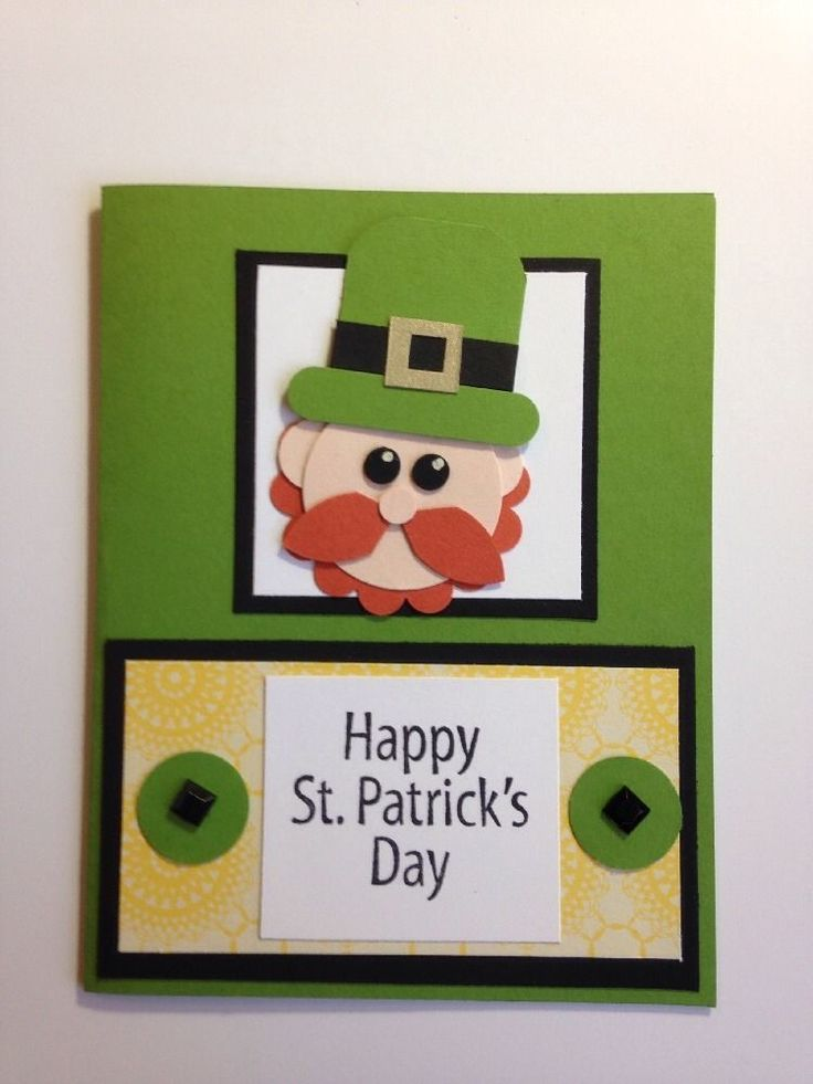 Stampin  39  Up  Lucky Leprechaun St  Patrick  39 s Day Card Kit